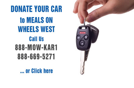 Donate your car to Meals On Wheels West