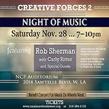Creative Forces Rob Sherman Carly Ritter Benefit for Meals On Wheels West