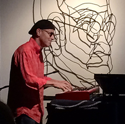 Rob Sherman keyboard player composer Creative forces 2014
